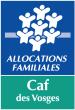 Logo CAF des Vosges